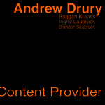 "Andrew Drury - ""Content Provider"""