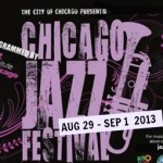Chicago Jazz Festival poster